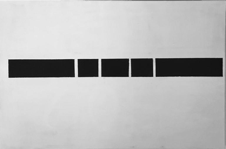 Steve Giasson. Performance invisible n° 43 (Censurer un texte sans importance). Performeur : Guillaume Harvey. Crédit photographique : Guillaume Harvey. 11 mars 2017.